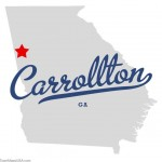 map_of_carrollton_ga